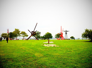 Photo: Sculptures on Governor's Island