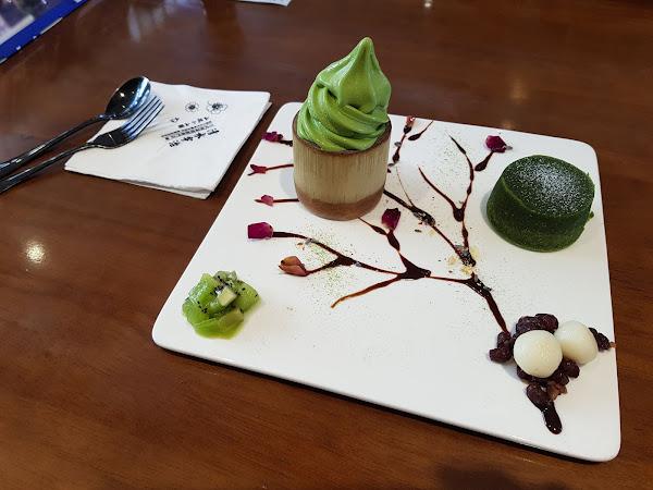 清水宇治。選用日本山政小山園抹茶,快來體驗桌邊現刷抹茶服務吧!