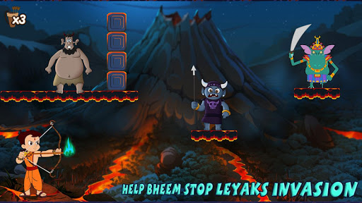 Chhota Bheem Shoot the Leyaks Game apkdebit screenshots 21