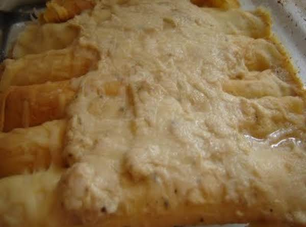 Chicken-cheese Crepes Recipe