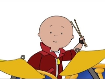 Caillou Plays the Drums/Caillou's Marching Band/Caillou Sings