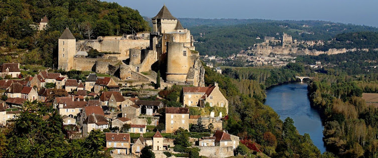 Регион Аквитания, Франция  -Castelnaud-la-Chapelle