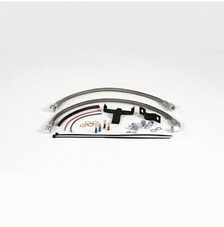 Oil cooler relocation kit central for BMW R2V Boxer models