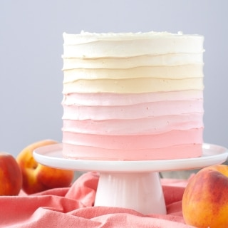 Peach Layer Cake.