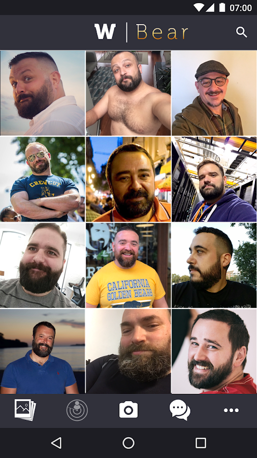 W | Bear : Gay Photo blogging- screenshot