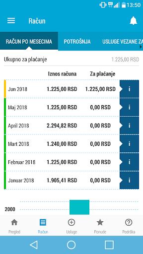 Moj Telenor 1.23.3 screenshots 4