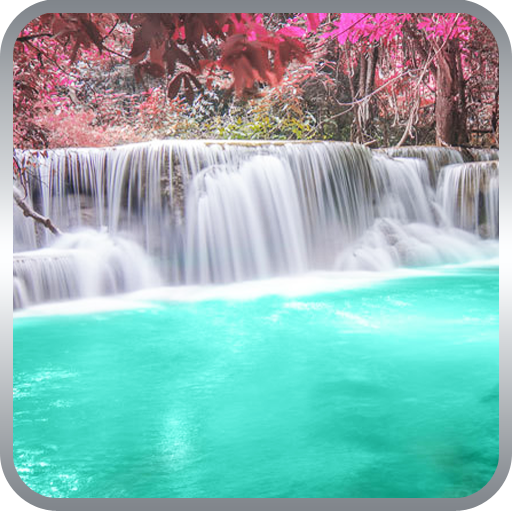 Waterfall Live Wallpaper 個人化 App LOGO-硬是要APP