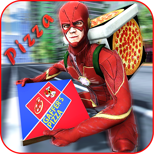Flash Speed Hero Pizza Delivery Duty