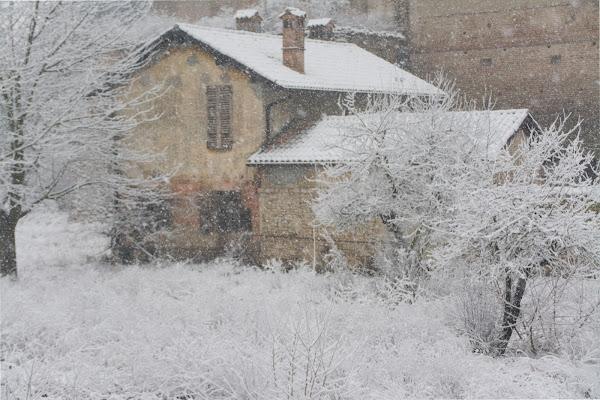 Cade la neve..ed è subito magia.. di vaiolet
