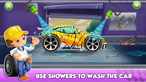 Enfants Car Wash Salon et service Garage  captures d'écran 1