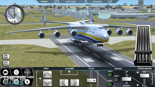 Flight Simulator 2017 FlyWings Free  screenshots 15