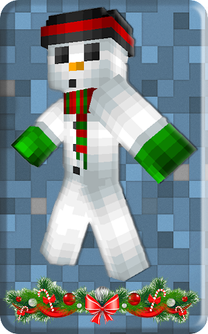 android Christmas skins for Minecraft Screenshot 6