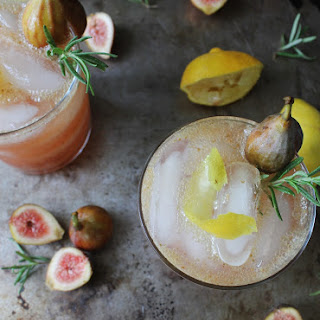 Sexy Fig and Lemon Fizz