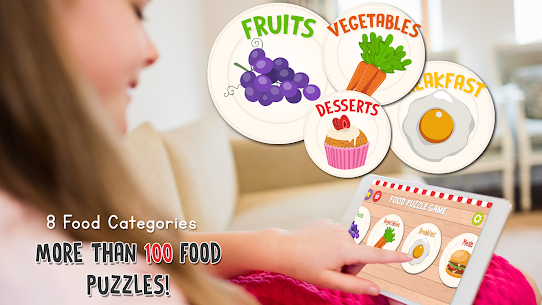 Food Puzzle for Kids: Preschool 3