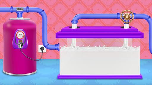 Code Triche Ice Popsicle Factory: jeu fabricant cru00e8me glacu00e9e APK MOD screenshots 4
