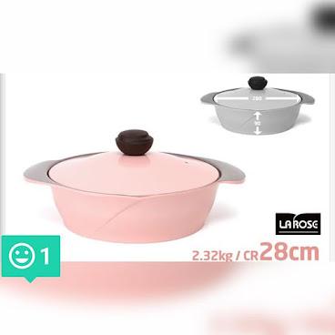 28cm 玫瑰鍋 hkd552