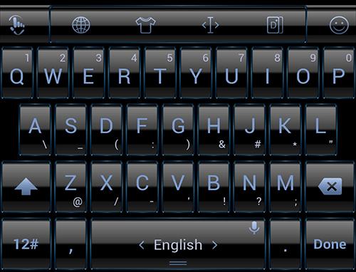 键盘主题 Blue Frame|玩個人化App免費|玩APPs