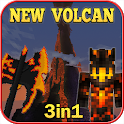 New Volcan Island & Survival Maps For Craft Game icon