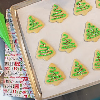 Cookie Cutter Holiday Sugar Cookies.