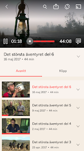 TV4 Play- screenshot thumbnail