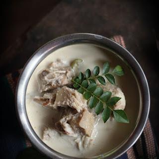Gujje Melara/Majjige Huli, Tender Jackfruit In Yogurt Coconut Curry