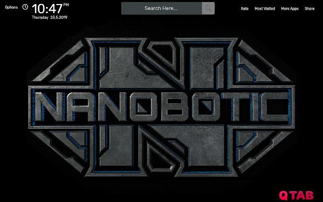 Nanobotic Wallpapers HD Theme - Chrome Web Store