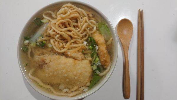 醇涎坊鍋燒麵,懷舊知名台南老店