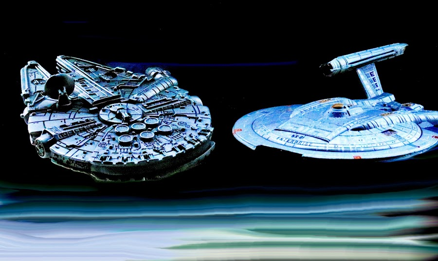 Star Trek meets Star Wars by Richard Lawes - Novices Only Macro