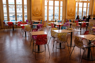 Photo: The colorful cafeteria at the Musée d'Orsay