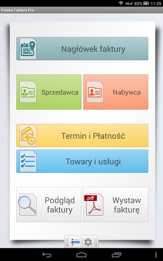 Polska Faktura Pro screenshot