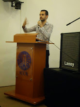 Photo: Mr Rafael Espadine from the Indian Cultural Center