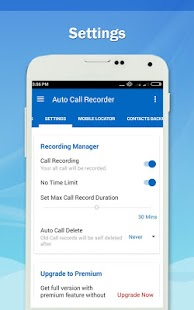 Auto Call Recorder 2017- screenshot thumbnail