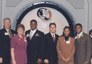 Photo: 2002 Hall of Fame Banquet - The Award Recipients
