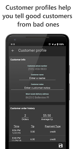 Delivery Tip Tracker Pro screenshot 6