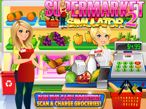 Supermarket Grocery Store Girl for PC