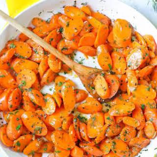 Garlic Herb Carrots.