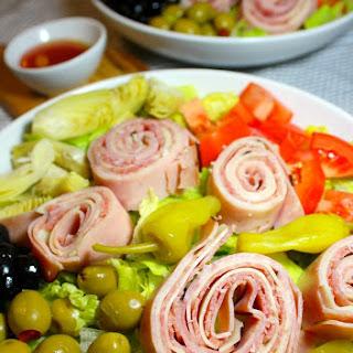 Antipasto Pinwheel Salad.