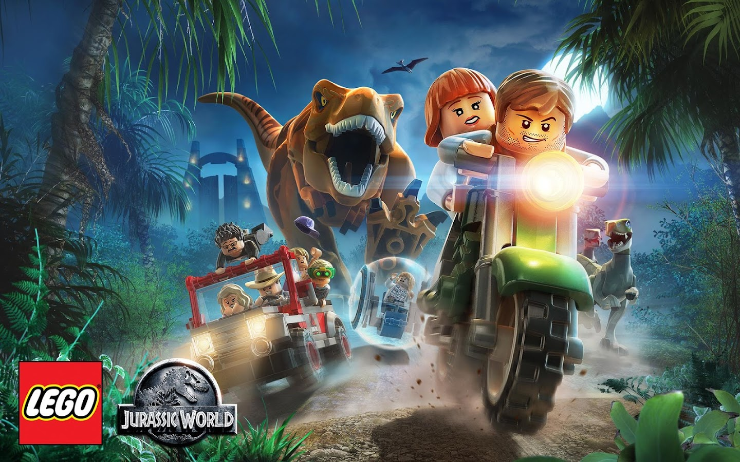 Lego jurassic world android apps on google play - Jurasic park lego ...