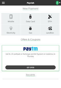 Payvish Talkcharge Recharge- screenshot thumbnail