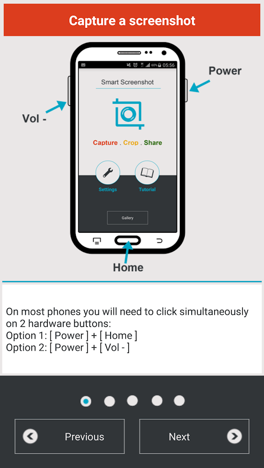 How To Take Screenshots And Edit Them With Your Android Device | Drippler - Apps, Games, News, Updates & Accessories