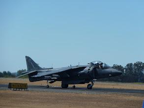 Photo: Harrier pre-takeoff.