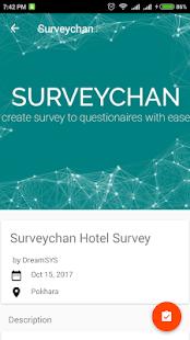 Surveychan - náhled