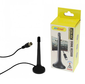 Antena extensibila semnal TV Andowl A161, baza magnetica
