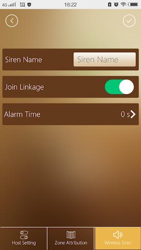 WiFi GSM alarm system 1.57 screenshots 2