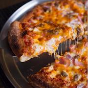 Medium Bacon Cheeseburger Pizza (6 Toppings)