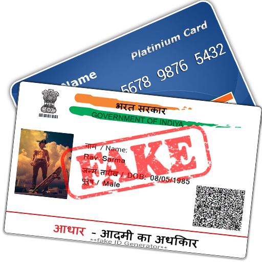 Fake ID Card Maker for India