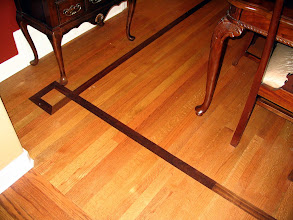 Photo: Dark inlay in the Dining Room
