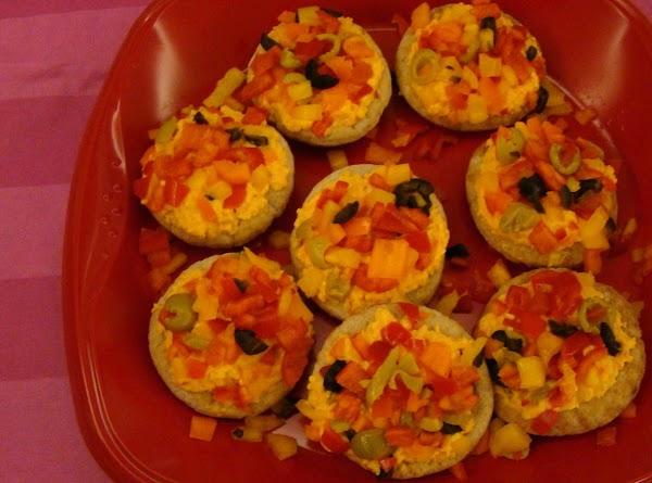 Fresh Vegetable Appetizer Pizza Recipe