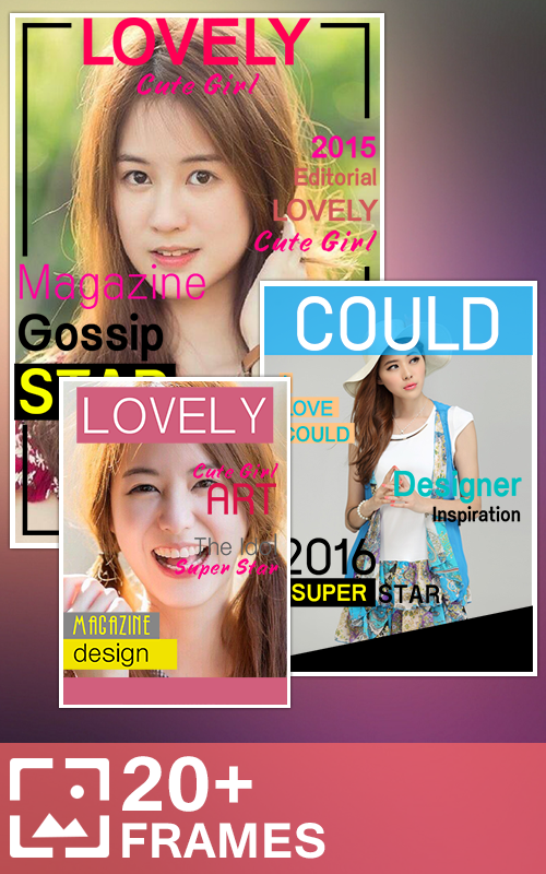 Best Book Cover Making Apps : Magazine photo frames android apps on google play
