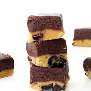 Cookie Dough Chocolate Fudge